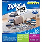 Ziploc space bags (10-bag set)
