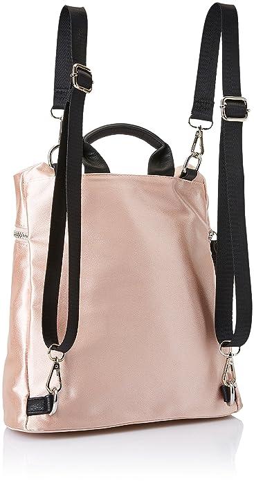 Sixty seven Shine, Bolso mochila para Mujer, Varios colores (Nudenegro), 14x27x29 cm (W x H x L): Amazon.es: Zapatos y complementos