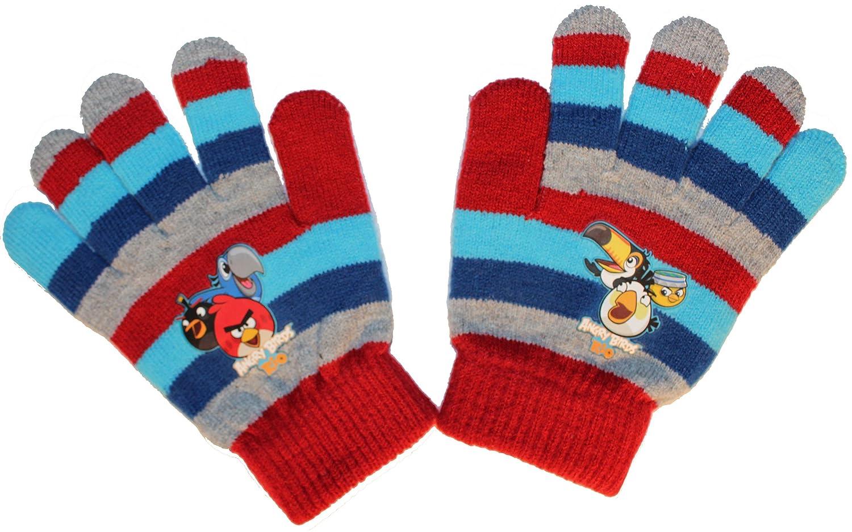 Angry Birds Rio Kinder ONE SIZE Handschuhe (ca.3-8 Jahre) in verschiedenen Farben (UN221)