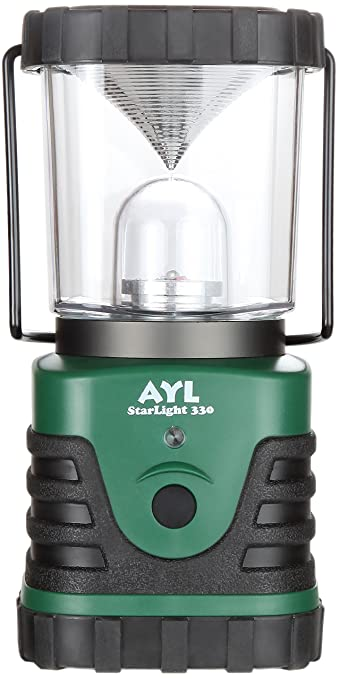 AYL StarLight - Water Resistant - Shock Proof - Battery Powered Ultra Long Lasting Up To 6 DAYS Straight Portable LED Lantern