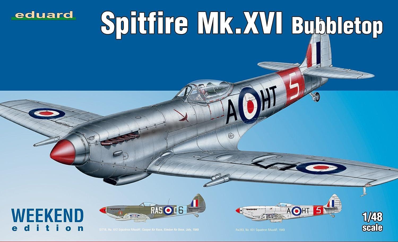 Unbekannt Eduard Plastic Kits 84141–Modellino Spitfire Mk.XVI Bubbletop Weekend Edition Eduard Plastic Kits (EDUAA) EDK84141