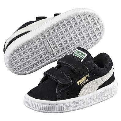 ec6d17b95150 Puma Suede 2 Straps Inf, Baskets Basses Mixte Enfant: Amazon.fr: Chaussures  et Sacs