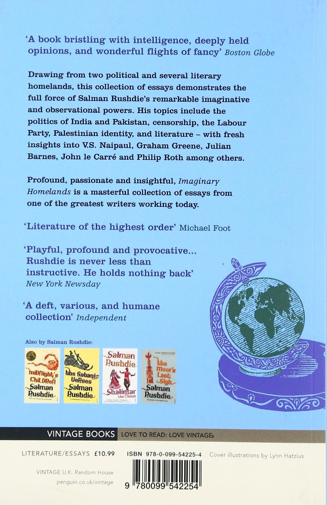 imaginary homelands essays and criticism 1981 1991 co uk imaginary homelands essays and criticism 1981 1991 co uk salman rushdie 9780099542254 books