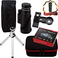 Upgraded Monocular by Strong Impact, Monocular Compact Scope, High Power Starscope Telescope, Zoom Monocular for Adults…