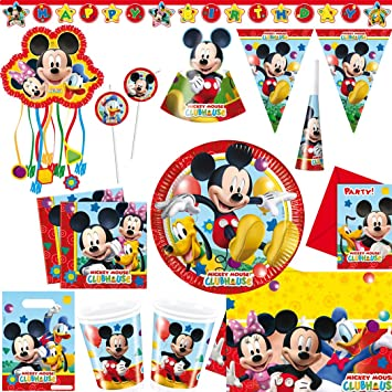 Mickey Mouse Playful Juego XL Cumpleaños infantiles Mickey ...