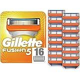 Gillette Fusion Rakblad för Män, Paket med 16