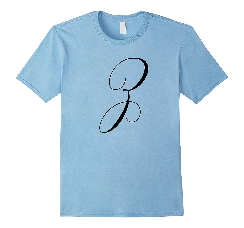 Capital Letter Z - Monogram Initial T-Shirt