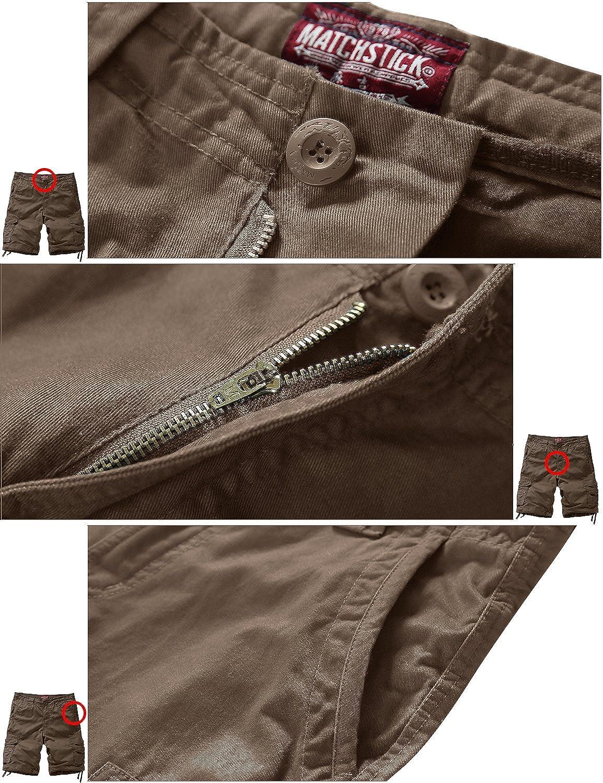 Match Mens Twill Cargo Shorts #S3612