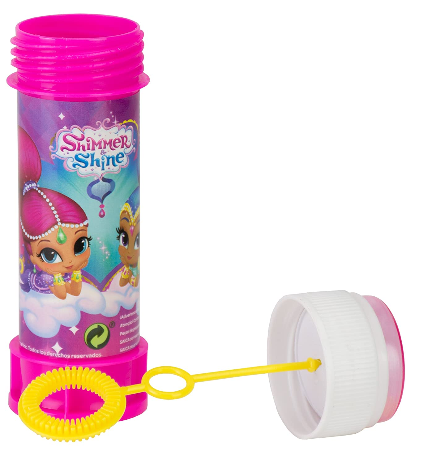 Amazon.com: Shimmer and Shine - Jabón burbuja (SAICA 2626 ...