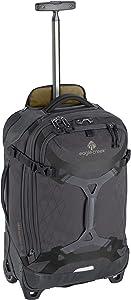 Eagle Creek Gear Warrior Carry Luggage Softside 2-Wheel Rolling Suitcase, Jet Black, 22 Inch