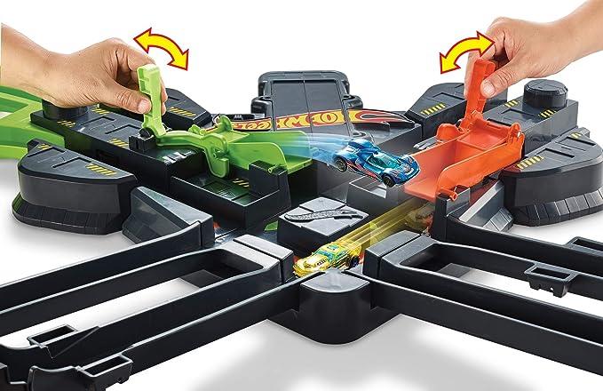 Hot Wheels Choque Colosal, pistas de coches de juguete niños ...