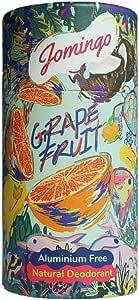 Jomingo Grapefruit Aluminium Free Natural Deodorant Stick For Women and Men, 40g