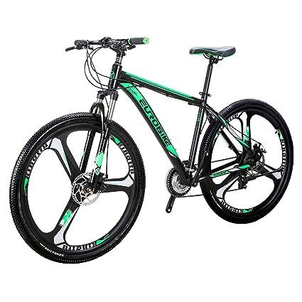 e25298ed7ac Eurobike EURX9 Mountain Bike 21 Speed 3-Spoke 29 Inches Wheels Dual Disc  Brake Aluminum