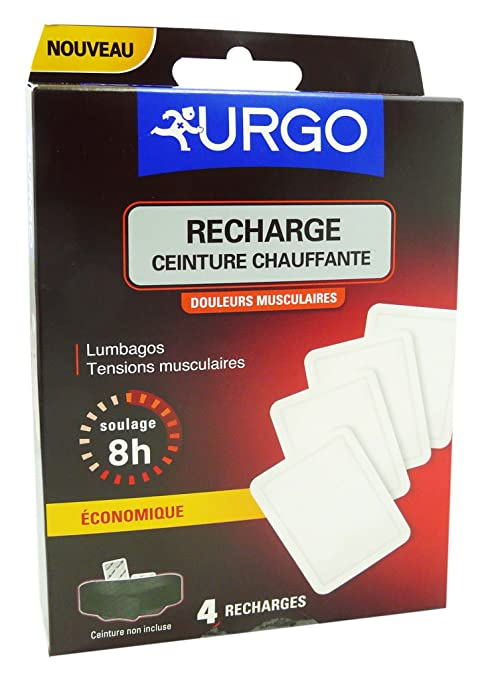 URGO RECHARGE CEINTURE CHAUFFANTE BT 4 ef82564c5d6