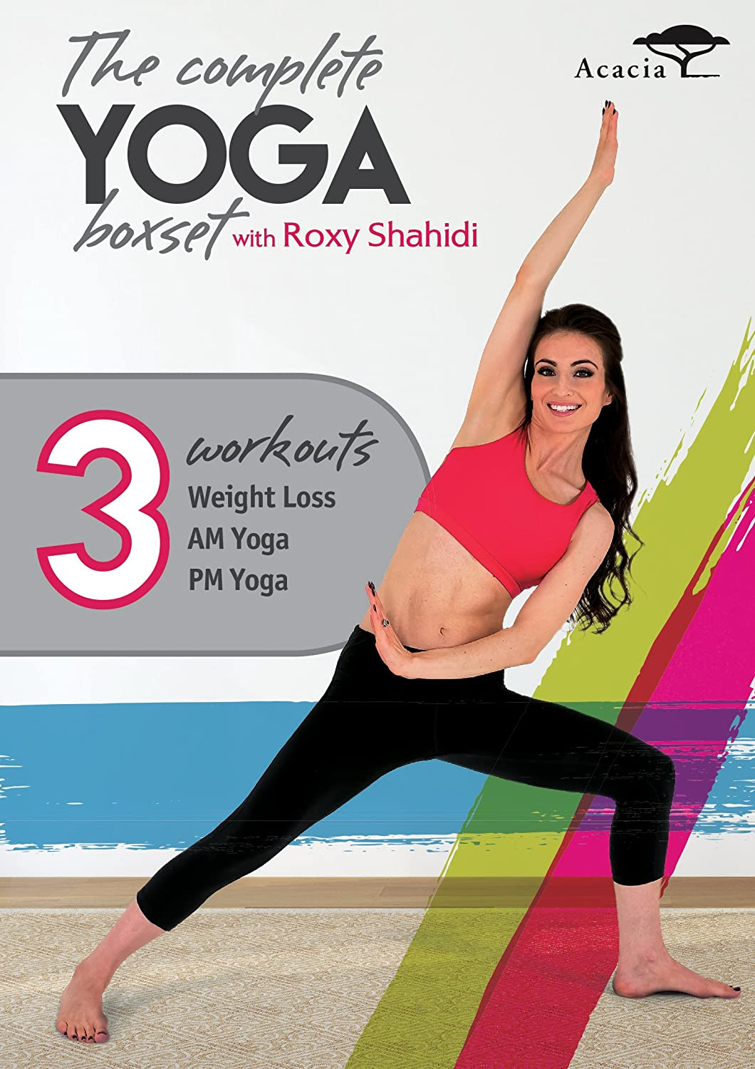 Amazon.com: The Complete Yoga Collection With Roxy Shahidi ...