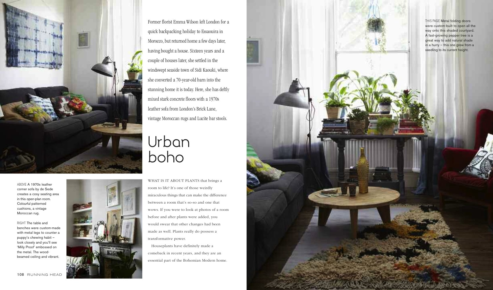 Bohemian Modern: Imaginative And Affordable Ideas For A Creative And  Beautiful Home: Emily Henson: 0884156735975: Amazon.com: Books