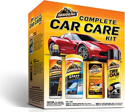 Armor All 13703C Complete Car Care Kit