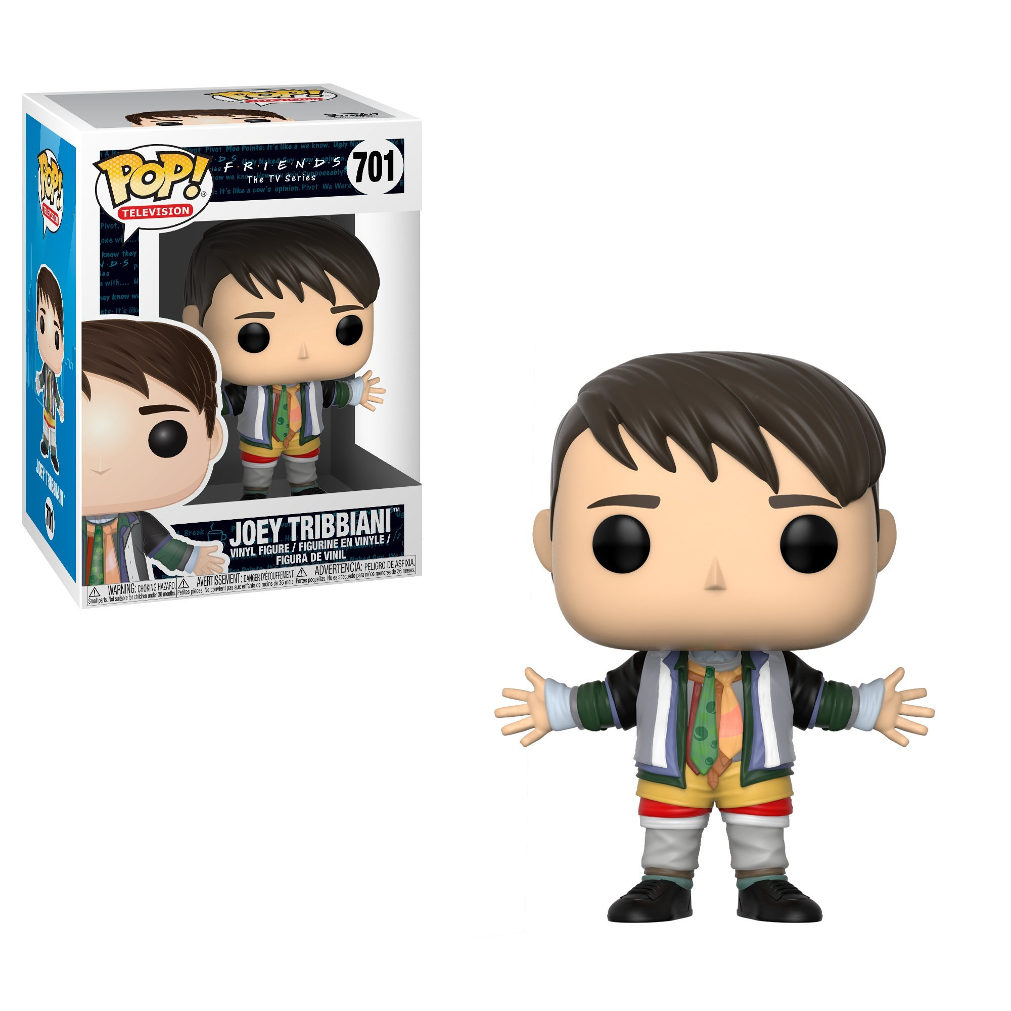 Funko Pop Television: Friends - Joey in Chandler's Clothes Collectible Figure, Multicolor by Funko (Image #2)