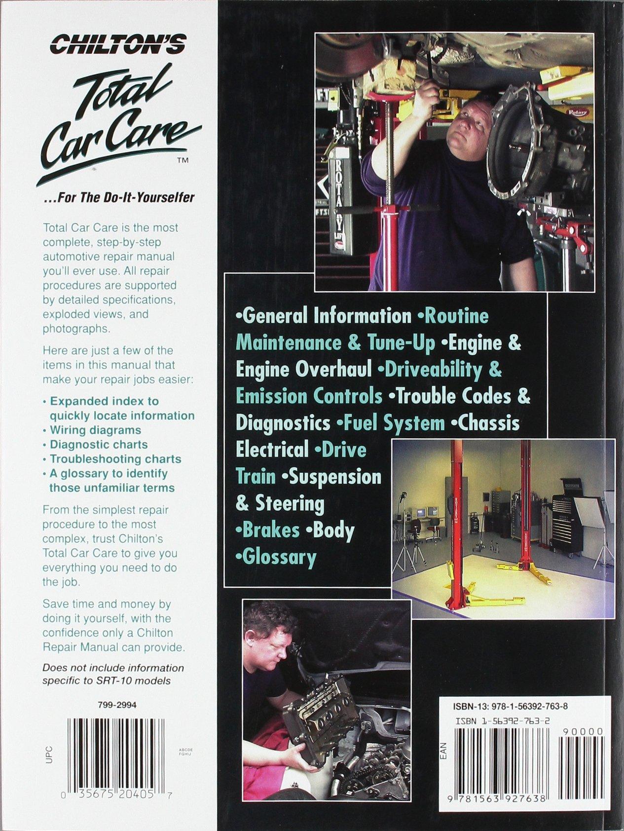 Dodge Pick Ups 2002 2008 Chiltons Total Car Care Repair Manual 5 7 Hemi Engine Parts Schematic Chilton 9781563927638 Books
