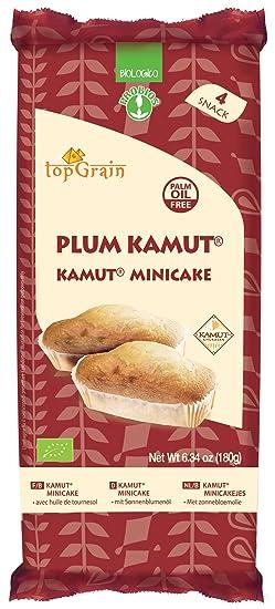 Probios Top Grain Minicake de Trigo Khorasan Kamut - 12 paquetes