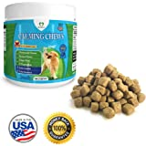 PawPaws Anxiety Relief/Calming Soft Chews for Dogs, Natural Ingredients, Chamomile Flower, Passion Flower, Ginger Root, For All Dogs, Made in USA