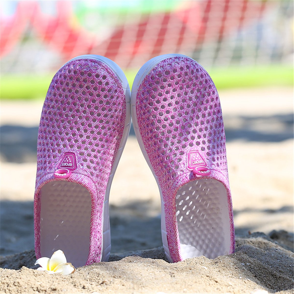 Ginjang Women's Garden Clogs Shoes Slip-on Slippers Sandals(39/Pink) by Ginjang (Image #5)