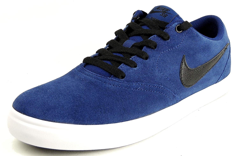 promo code 6dc58 54c41 Nike SB SB SB Check Solar, Scarpe da Ginnastica Basse Uomo B07G7RGBKG 44.5  EU MultiColoreeee (blu Void nero ...