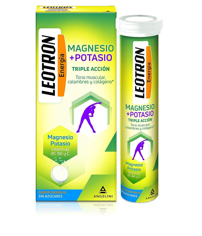 Leotron Magnesio y Potasio - 30 Comprimidos: Amazon.es: Salud y cuidado personal