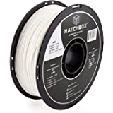 HATCHBOX ABS 3D Printer Filament, Dimensional Accuracy +/- 0.03 mm, 1 kg Spool, 1.75 mm, White