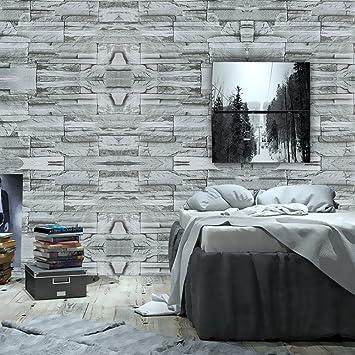 Schon Wopeite Backstein An Papier Stein Tapete Selbstklebend Rolle Multi  Backstein Blöcke Wand Muster Zuhause Zimmer Dekoration
