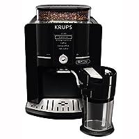 Krups EA82F8 Independiente Totalmente automática Máquina espresso 1.7L 9tazas Negro - Cafetera (Independiente, Máquina espresso, 1,7 L, Granos de café, Molinillo integrado, Negro)