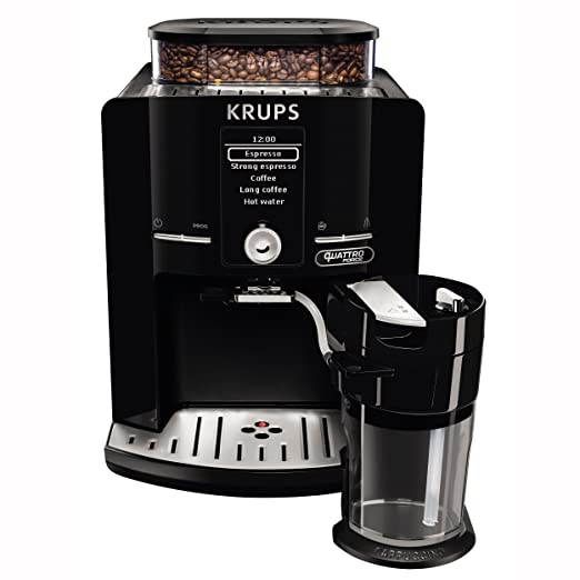 Krups EA82F8 - Cafetera (Independiente, Máquina espresso, 1,7 L ...