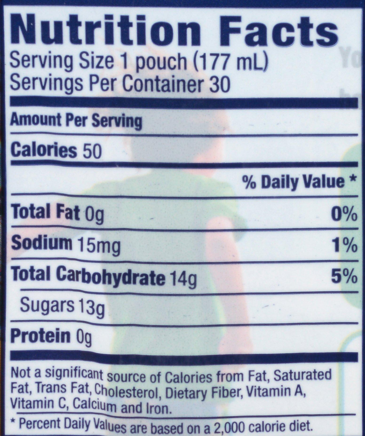 PACK OF 6 - Capri Sun Fruit Punch Juice Pouches, 30 count, 6 oz (177mL) by Capri Sun (Image #5)
