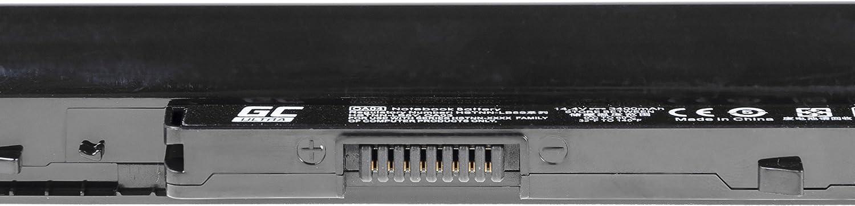 Las Celdas Originales Panasonic, 3400mAh, Negro 246 G3 15-D 15-G 15-H 15-R Ordenador 256 G3 245 G2 G3 255 G2 G3 Green Cell/® Ultra Serie OA04 Bater/ía para HP 240 G2 G3 250 G2 G3