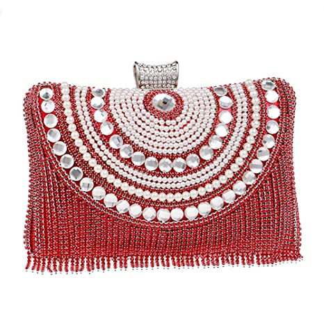Bolso de noche embrague de noche Bolso clásico del vestido de noche del diamante del tamaño ...