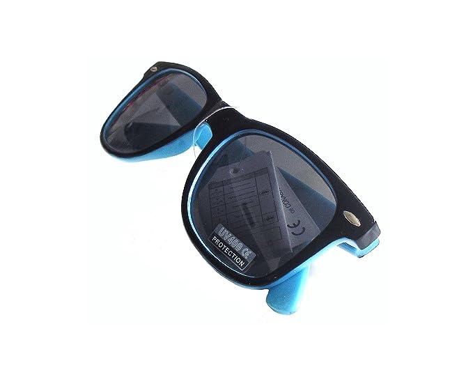 See Vision Gafas de Sol con Filtro UV400 color Negro con Interior Azul o Rojo, Nuevas