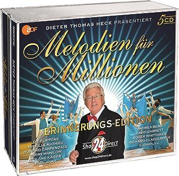 Melodien Fur Millionen Prasentiert Von Dieter Thomas Heck 5 Cds Amazon De Musik