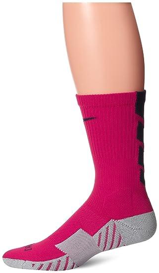 9a43e23ff Nike Men's Stadium Football Crew Socks - Red, Large: Amazon.co.uk ...