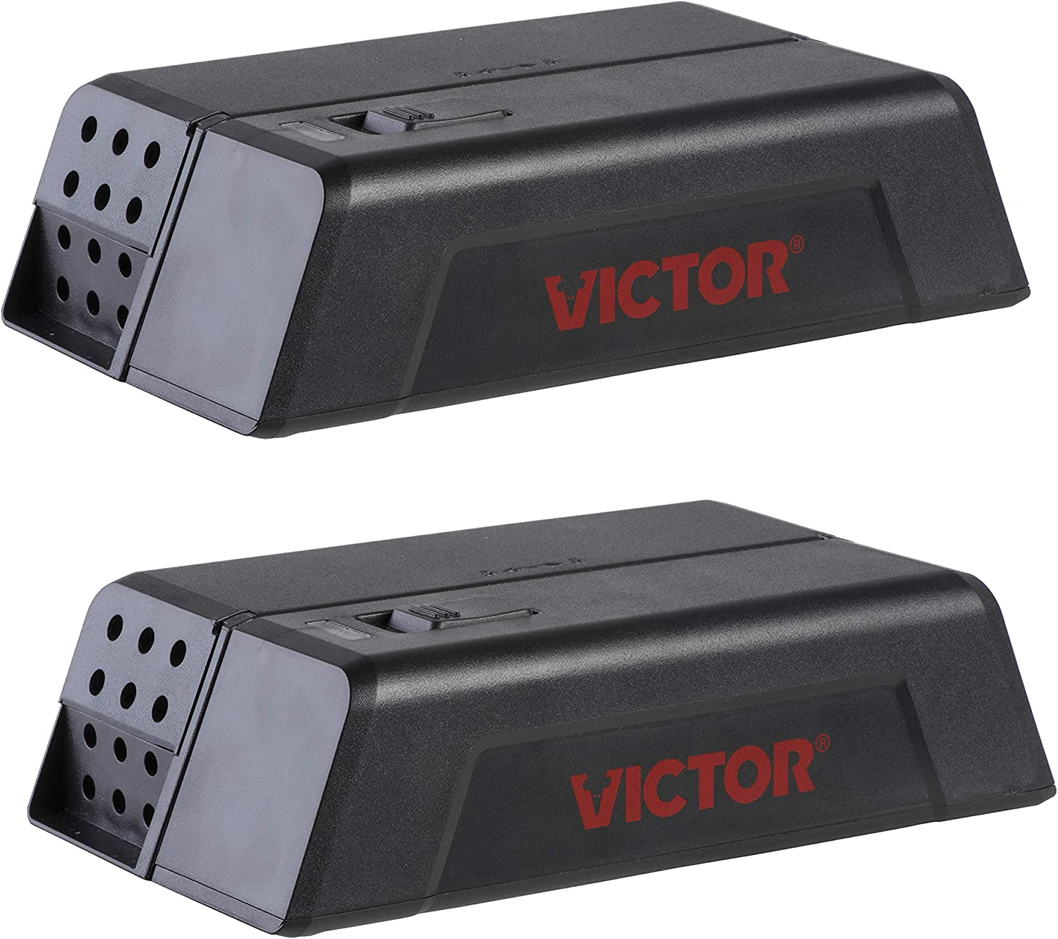 Victor M250S No Touch, No See Upgraded Indoor Electronic Mouse Trap - 2 Traps