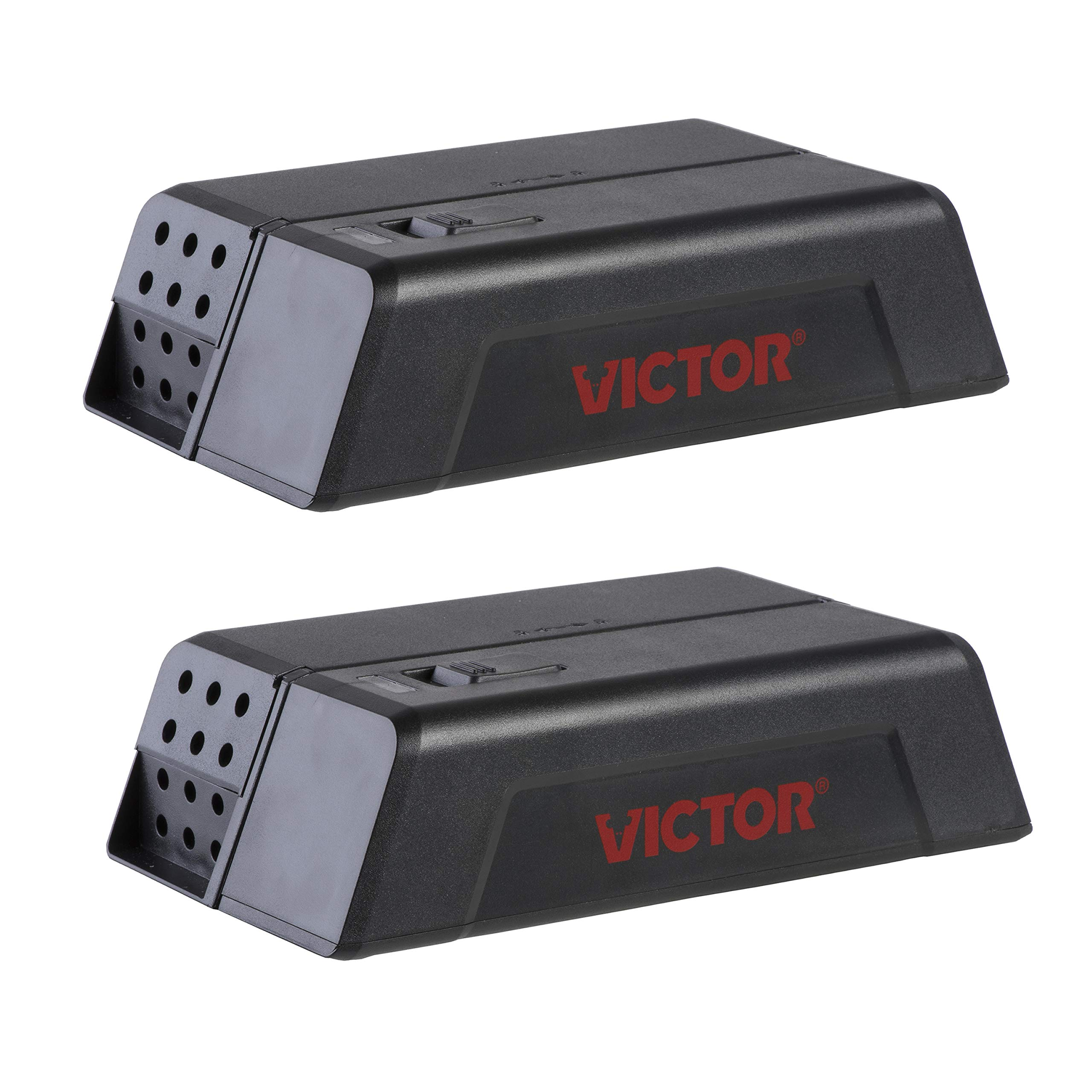 Victor M250SSR-2 Electronic Mouse Trap-2 Pack, Black by Victor