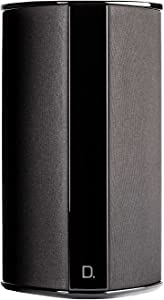 """Definitive Technology SR-9080 15"""" Bipolar Surround Speaker   High Performance   Premium Sound Quality   Wall or Table Placement Options   Single, Black"""