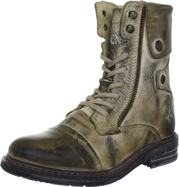Yellow Cab SOLDIER W, Damen Combat Boots, Schwarz (Black), 37 EU