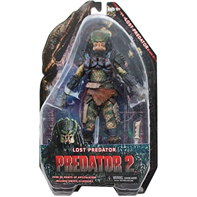 Predators 7-Inch LOST PREDATOR (Series 6) Action Figure - NECA: Toys & Games