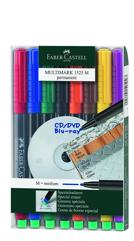 Faber-Castell Multimark Marker S Wasserfest 5 Stück