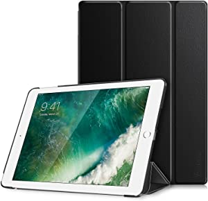 Fintie Case for iPad 9.7 2018/2017 - Lightweight Slim Shell Standing Cover with Auto Wake/Sleep Feature for iPad 6th / 5th Gen 9.7 Inch Tablet, Black
