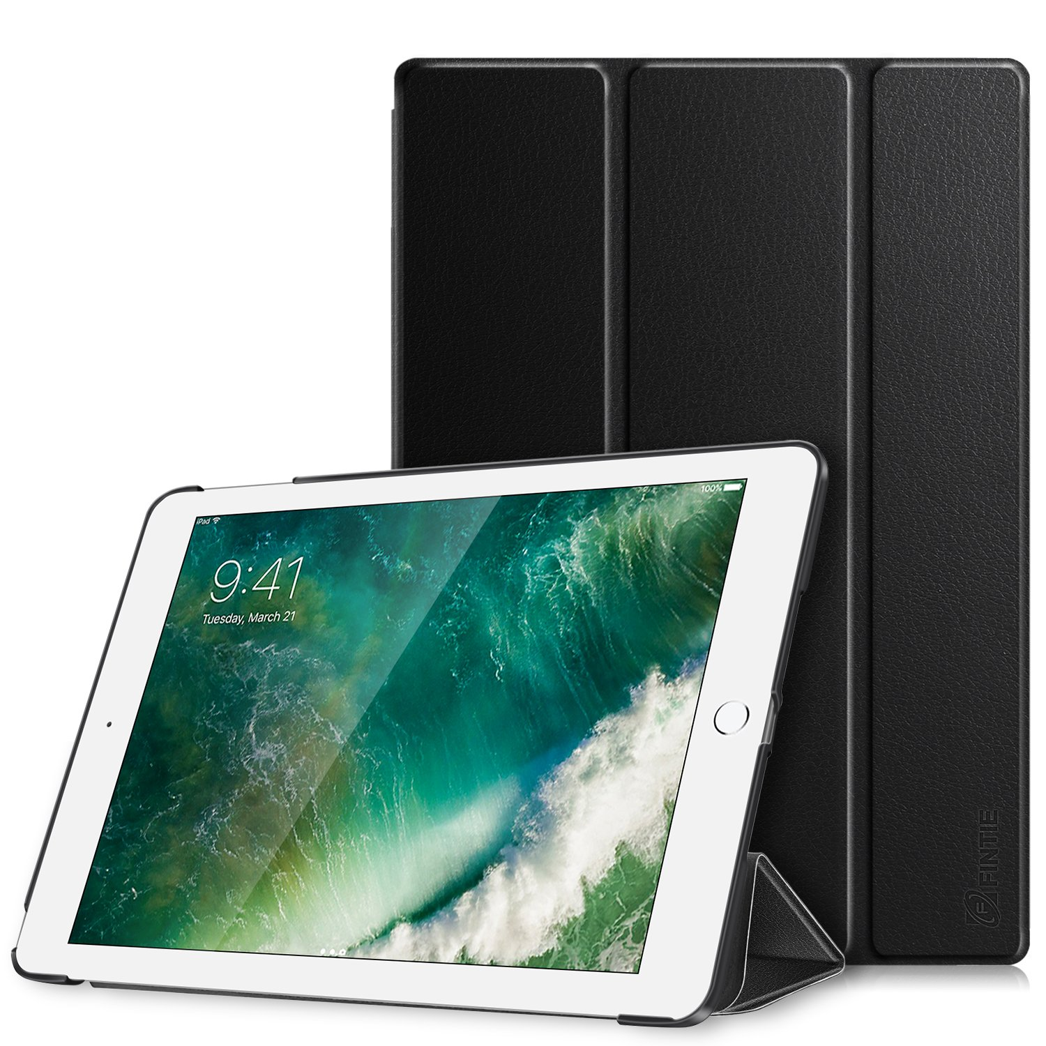 hot sale online 629aa 2b7cd Fintie iPad 9.7 2018/2017 Case - Lightweight Slim Shell Standing Cover with  Auto Wake/Sleep Feature for Apple iPad 6th / 5th Gen 9.7 Inch Tablet, ...