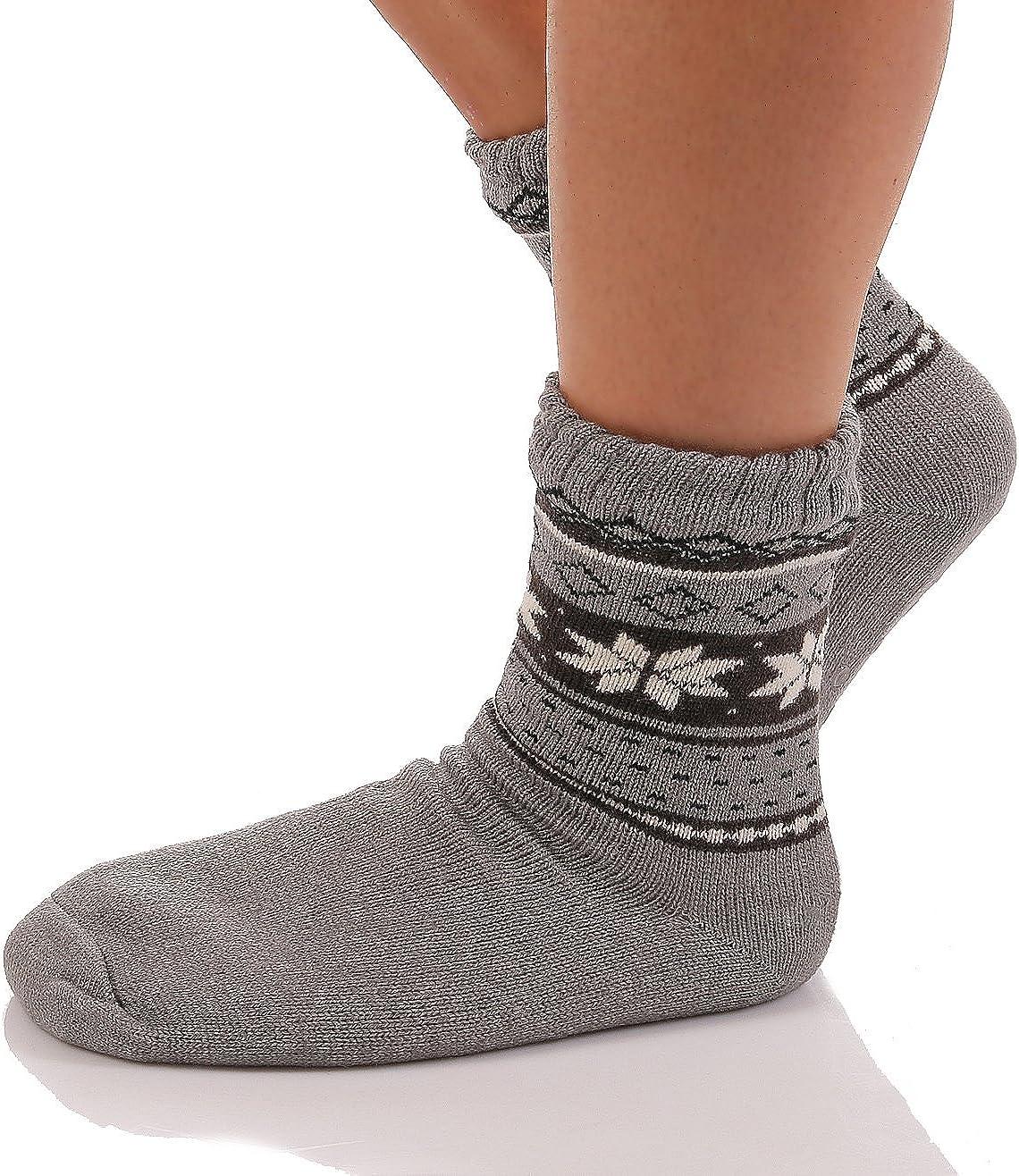 Calze da Donna capanne Pantofole da Uomo capanne Scarpe calda ABS