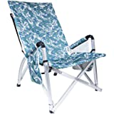 Lawn Chair - Portable Beach Chair for Camping Concert Lawn Chair, Lightweight Portable Folding Aluminum Chair, Easy Carry wit