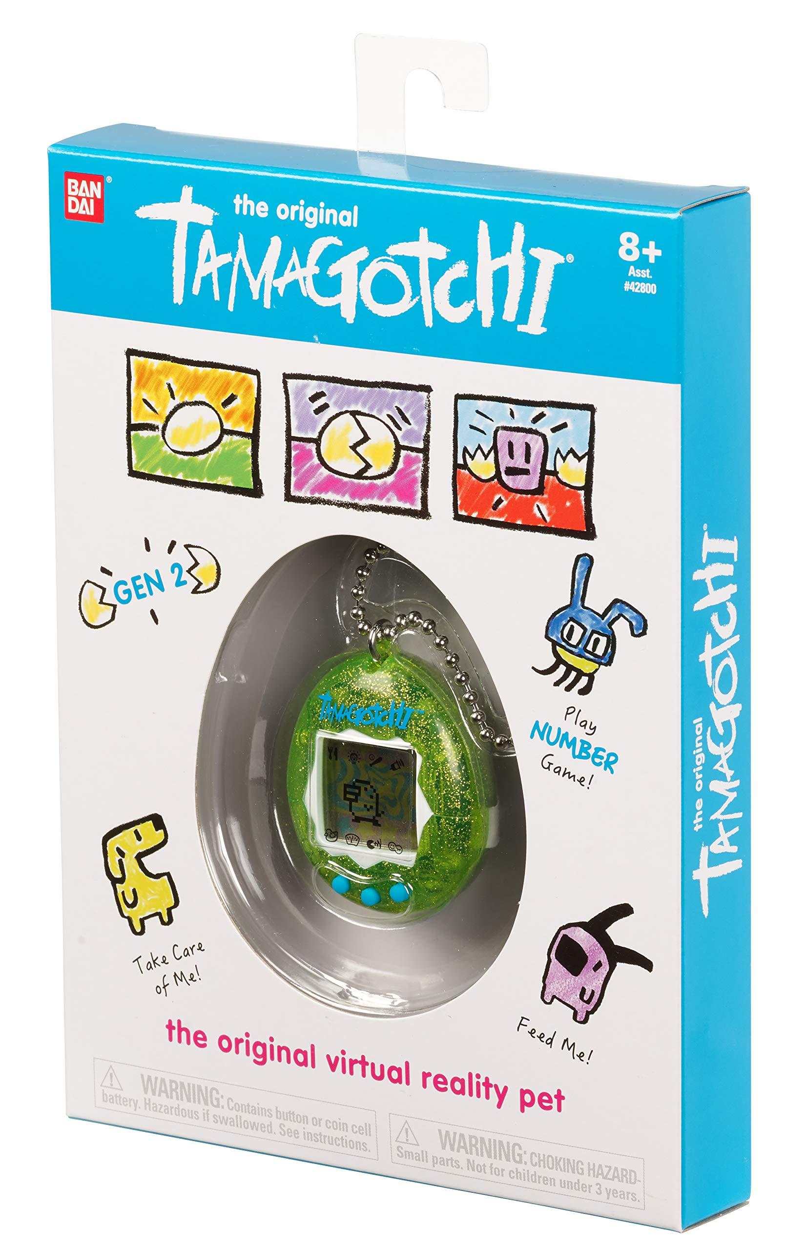 Tamagotchi Electronic Game, Green Glitter by Tamagotchi (Image #4)