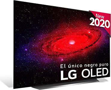 "LG OLED65CX-ALEXA - Smart TV 4K OLED 164 cm (65"") con Inteligencia Artificial, Serie C, Procesador Inteligente α9 Gen3, Deep Learning, 100% HDR, Dolby Vision/ATMOS, HDMI 2.1"